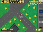 Juega al juego gratis Airplane Hangar Parking