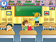 Juega al juego gratis Kiddy Kissing