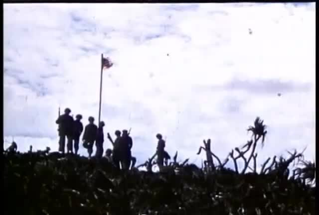 Watch free video Raising of the Flag