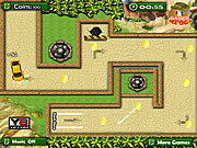 Juega al juego gratis Tower Defense Car Parking