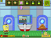 Spongebob Squarepants Krabby Patty Grabber game