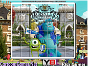 Monsters University Spin Puzzle game