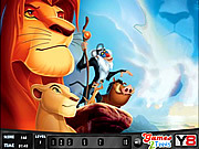 The Lion King - Numbers Hunt game