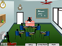 Stickman Death Classroom game