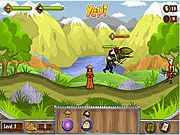 Ninja and Blind Girl 2 spel