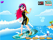 Surfing Weekend Dressup game