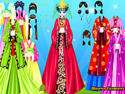 Christine Dress Up game