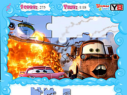 Jolly Jigsaw - Cars 2 game