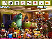 Monster University Hidden Objects game