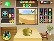 Juega al juego gratis Math Monster Add/Sub