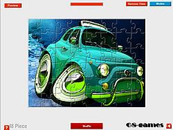 3D Car Jigsaw game