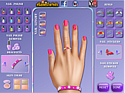 Princess Aurora Nails Makeover game