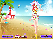 Sunshine Beach Dress Up game
