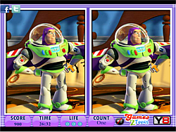 10 Differences - Toy Story game