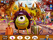 Monsters University Objects game