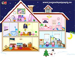 Peppa Pig Doll House game