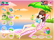 Happy Bathing Beach game
