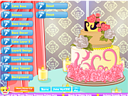 Juega al juego gratis Lovely Wedding Cake