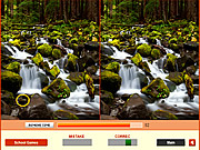 Forest Waterfalls Difference game