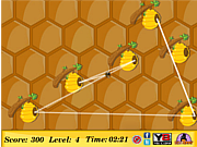 Bee Path Memory game