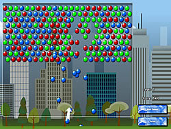 Big City Bubble Shooter game