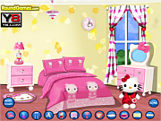 Hello Kitty Bedroom game