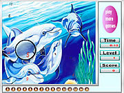 Fantastic ocean dolphins hidden numbers game