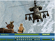 Medal of Honor Hidden Letters game