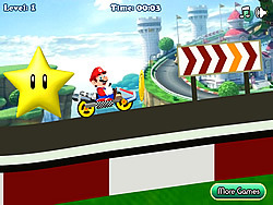 Mario Kart 64 game