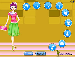 Barbie Fun Dressup game