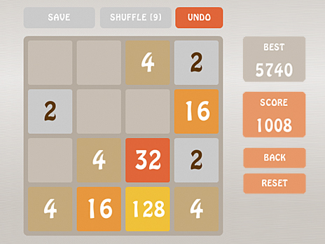 2048 Battle game