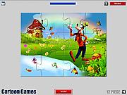 שחקו במשחק בחינם Goofy Jigsaw