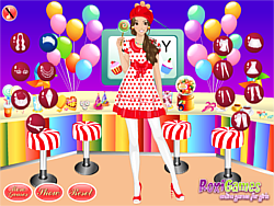 Sweet Candy Style Makeover game