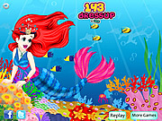 Mermaid Princess Dressup game