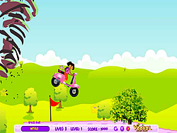 Dora Hurricane Ride game