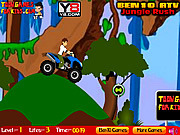 Ben 10 ATV Jungle Rush game