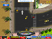 Juega al juego gratis California Pizza Delivery