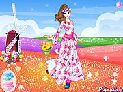 Flower Around Princess