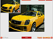 Cadillac Taxi Jigsaw game