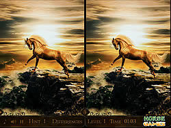 Horse Differences game