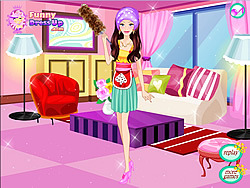 Cleaner Girl Dressup game