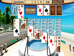 Yacht Solitaire game
