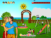 Kinder Garden Kissing game