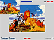 Lion King Jigsaw game