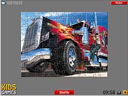 American Truck - Puzzle game