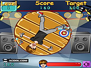 Justin Bieber Darts game