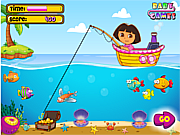 Dora Fishing 1 game