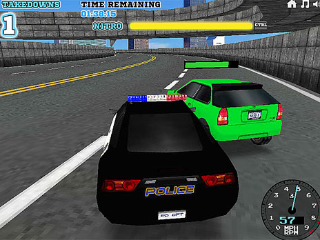 Play Super Police Persuit game online - Y8.COM