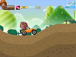 Baldheaded Strong Transport Marble game