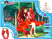 Phoenix girl dressup game